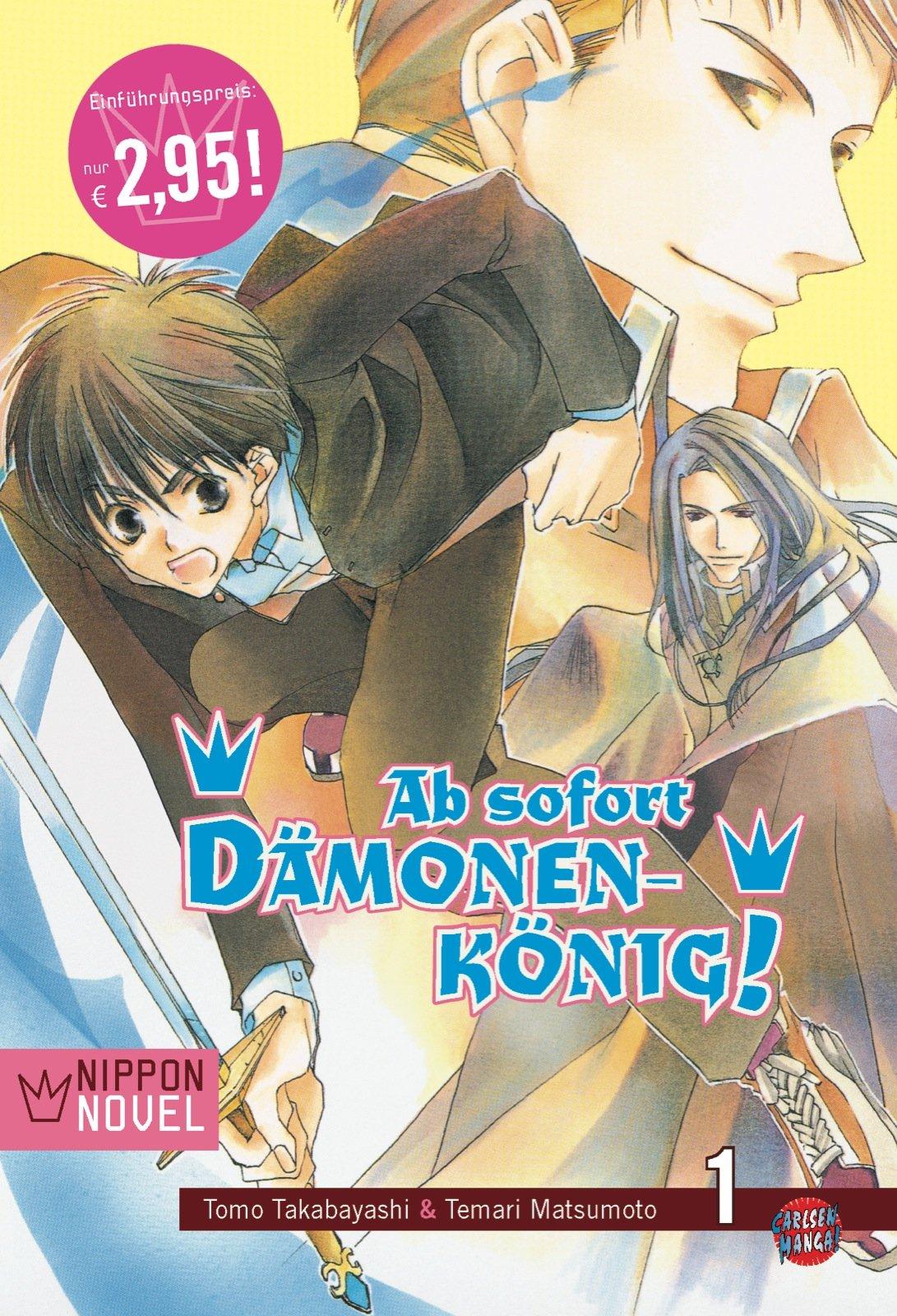 Cover des 1. Bandes von Ab Sofort Dämonenkönig