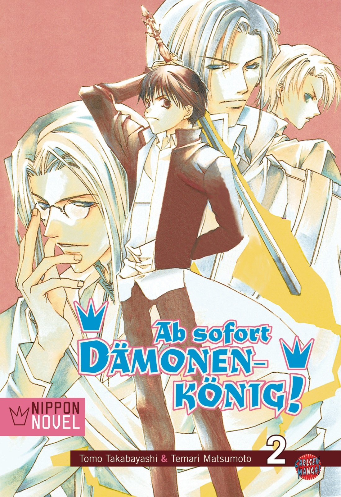 Cover des 2. Bandes von Ab Sofort Dämonenkönig