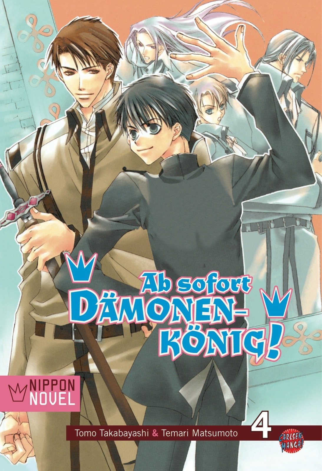 Cover des 4. Bandes von Ab Sofort Dämonenkönig