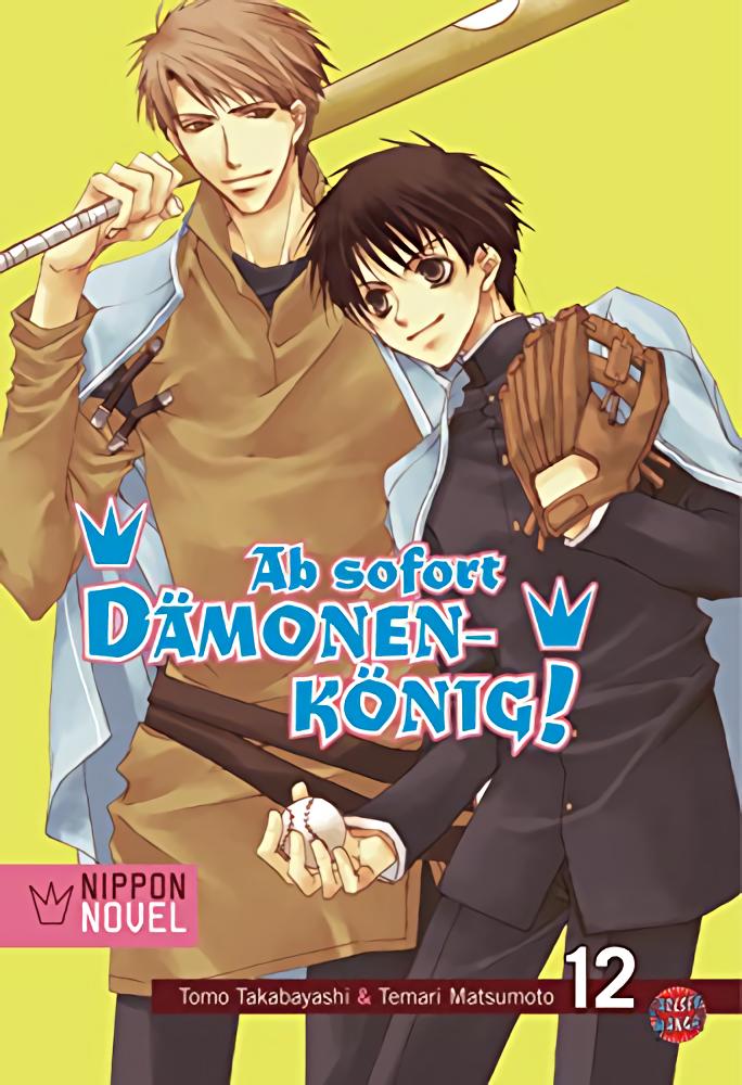 Cover des 12. Bandes von Ab Sofort Dämonenkönig