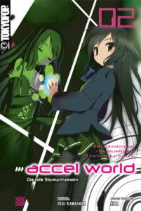 Cover des 2. Bandes von Accel World