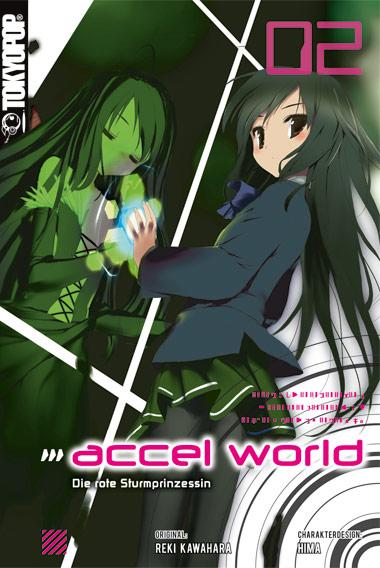 Cover des zweiten Bandes von Accel World