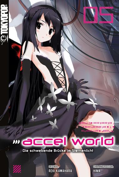 Cover des fünften Bandes von Accel World