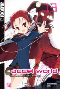 Cover des 13. Bandes von Accel World