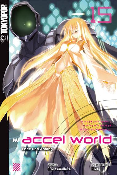 Cover des fünfzehnten Bandes von Accel World