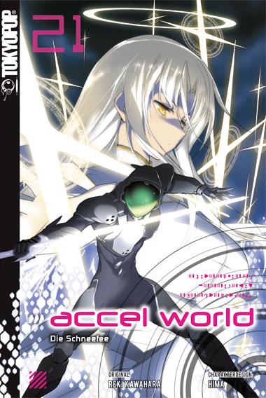 Cover des einundzwanzigsten Bandes von Accel World
