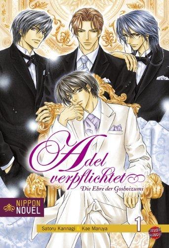 Cover des 1. Bandes von Adel Verpflichtet – Die Ehre der Goshoizumi