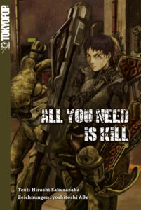 Cover des Einzelbandes von All you need is a kill