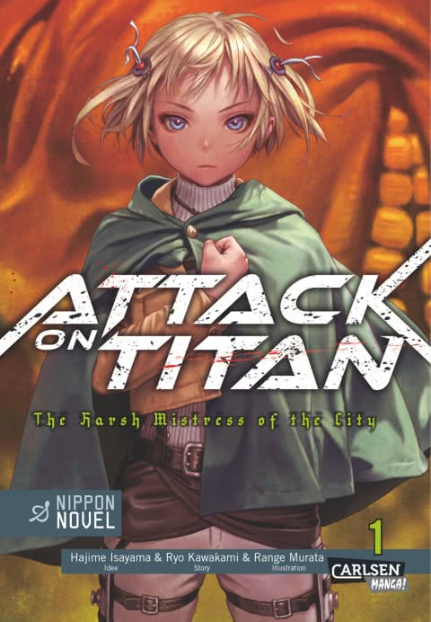 Cover des 1. Bandes von Attack on Titan – Harsh Mistress of the City