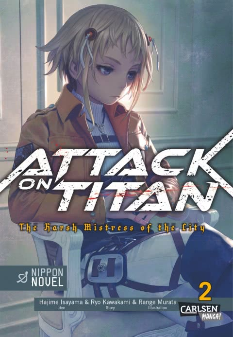 Cover des 2. Bandes von Attack on Titan – Harsh Mistress of the City