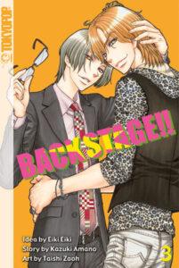 Cover des 3. Bandes von Back Stage!!