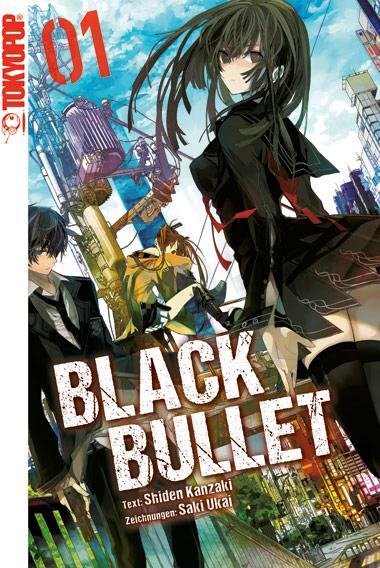 Cover des 1. Bands von Black Bullet