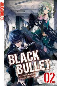 Cover des 2. Bandes von Black Bullet