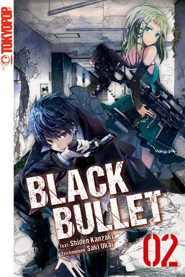 Cover des 2. Bands von Black Bullet