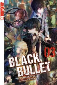 Cover des 3. Bandes von Black Bullet