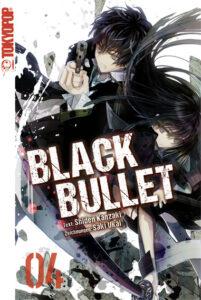 Cover des 4. Bandes von Black Bullet