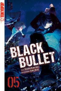 Cover des 5. Bandes von Black Bullet