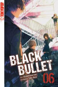Cover des 6. Bandes von Black Bullet