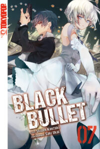 Cover des 7. Bandes von Black Bullet