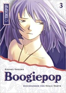 Cover des 3. Bandes von Boogiepop