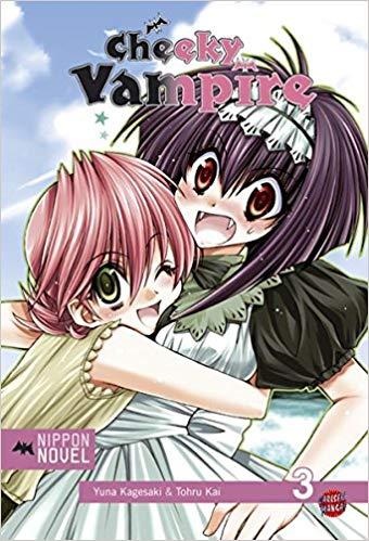 Cover des 3. Bandes von Cheeky Vampire
