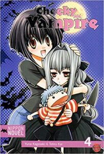 Cover des 4. Bandes von Cheeky Vampire