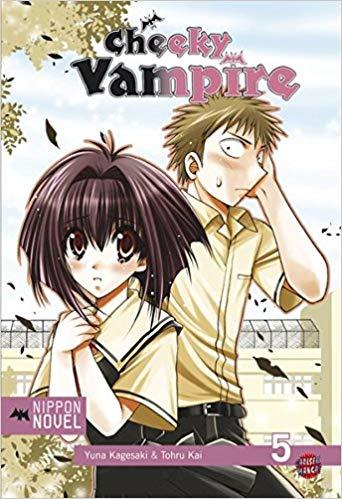 Cover des 5. Bandes von Cheeky Vampire