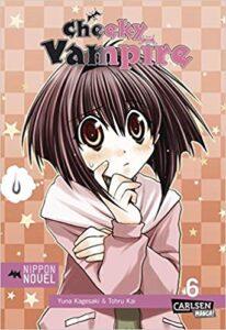 Cover des 6. Bandes von Cheeky Vampire