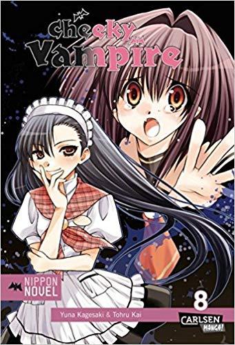 Cover des 8. Bandes von Cheeky Vampire