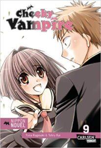 Cover des 9. Bandes von Cheeky Vampire