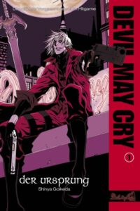 Cover des ersten Bandes zur Novel Devil May Cry