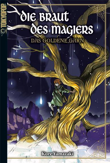 Cover des 1. Bandes von Die Braut des Magiers - Light Novel - Das Goldene Garn