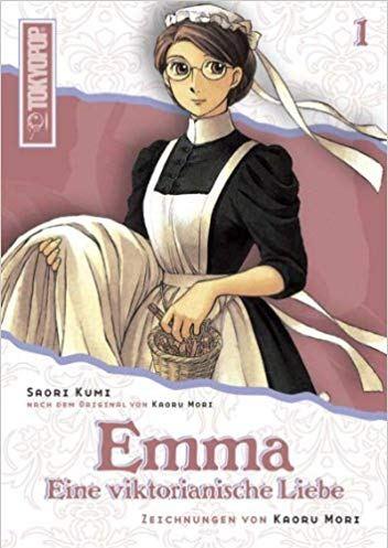 Cover des 1. Bandes von Emma - Light Novel - Eine viktorianische Liebe