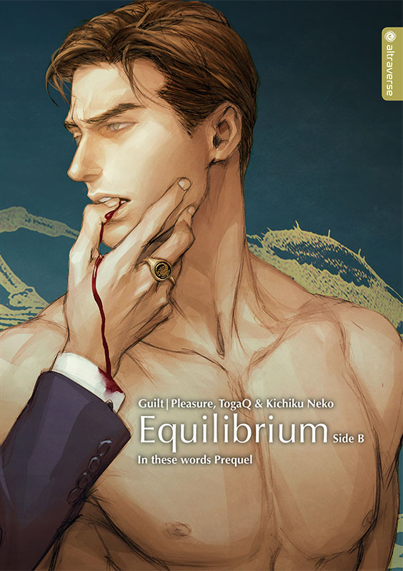 Cover des Bandes von In These Words - Light Novel - Equilibrium: Side B