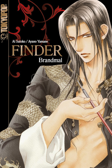 Cover der Novel Finder - Brandmal