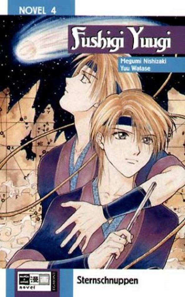 Cover des 4. Bandes von Fushigi Yuugi