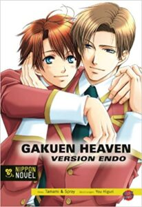 Cover der Light Novel Gakuen Heaven Version Endo
