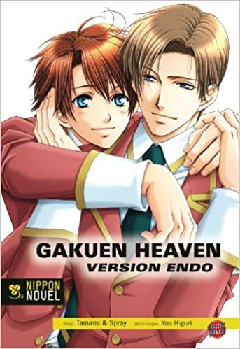 Cover von Gakuen Heaven Version Endo - Light Novel