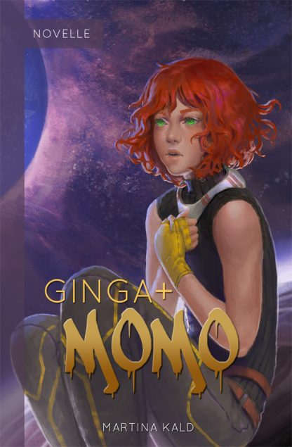 Cover der Light Novel Ginga + Momo
