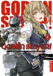 Cover des 4. Bandes von Goblin Slayer