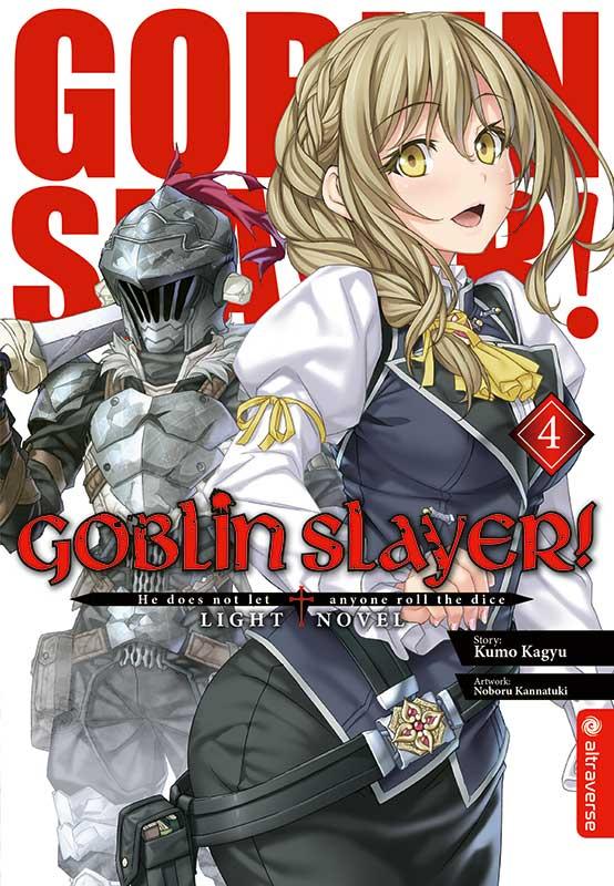 Cover des 4. Bandes von Goblin Slayer - Light Novel
