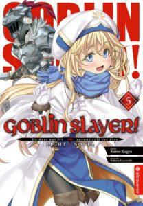 Cover des 5. Bandes von Goblin Slayer