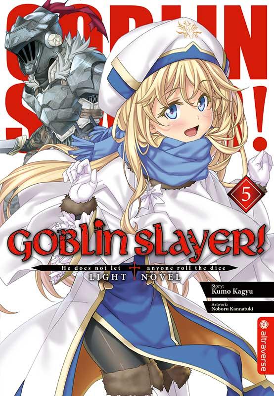Cover des 5. Bandes von Goblin Slayer - Light Novel