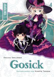 Cover des 4. Bandes von Gosick