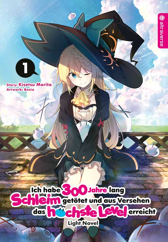 Das Cover zum ersten Band zur Light Novel von Ich habe 300 Jahre Schleim getötet