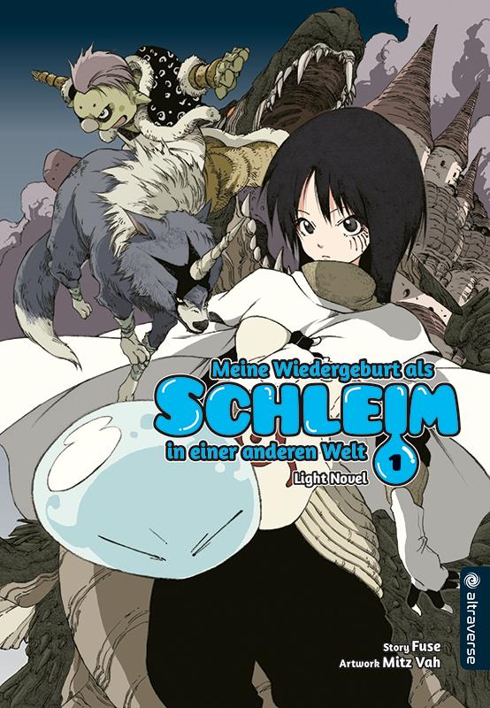 Cover des 1. Bandes von Meine Wiedergeburt als Schleim in einer anderen Welt - Light Novel