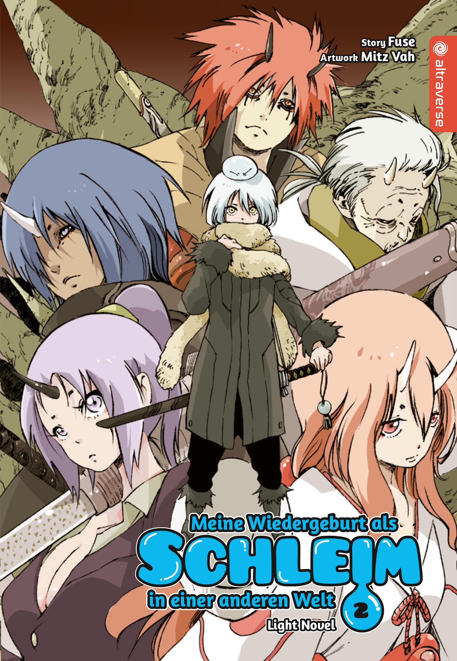 Cover des 2. Bandes von Meine Wiedergeburt als Schleim in einer anderen Welt - Light Novel