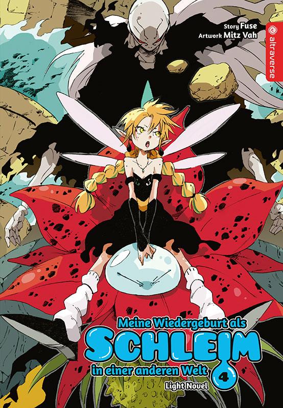 Cover des 4. Bandes von Meine Wiedergeburt als Schleim in einer anderen Welt - Light Novel
