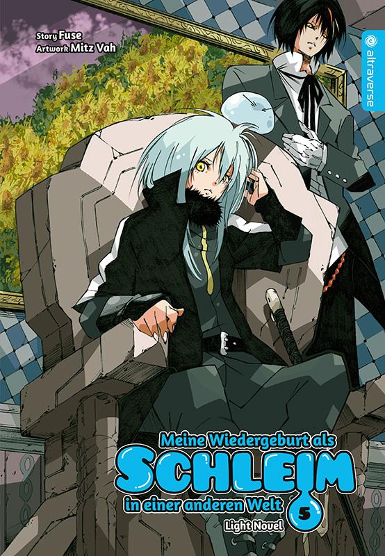Cover des 5. Bandes von Meine Wiedergeburt als Schleim in einer anderen Welt - Light Novel