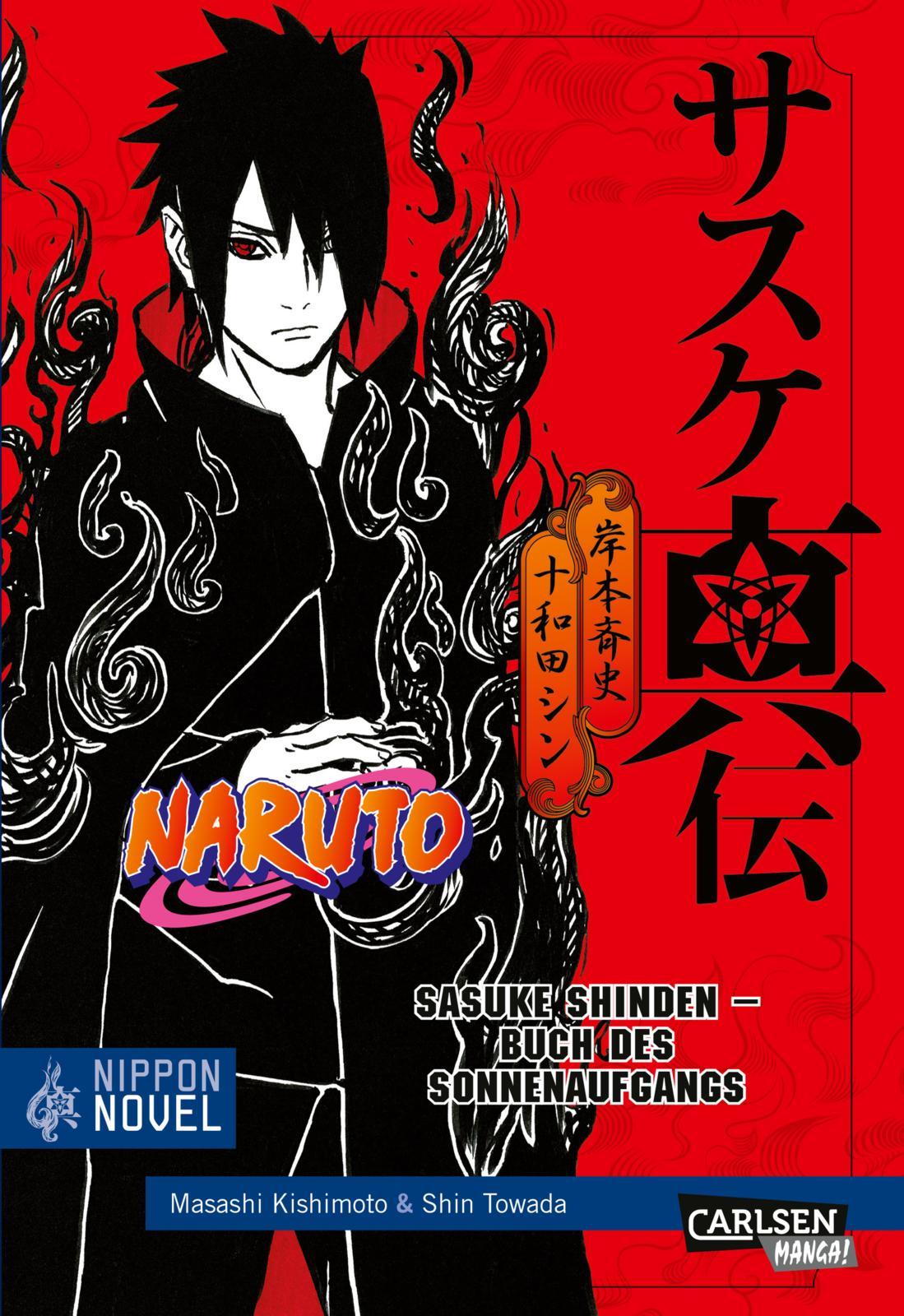 Cover des 3. Bandes von Naruto Shinden - Light Novel